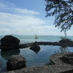 Jacuzzi avec vue sur mer