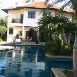 Pool and Lodging one of the ten 2 Bedroomed villas