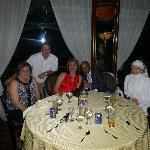 Mostafa and I on the Nile dinner cruise