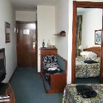 Room was big and plenty of storage space