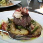 The Surf and Turf at Amuse