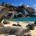 The Baths BVI (British Virgin island) Wonderful Caribbean