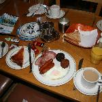 Irish continental breakfast