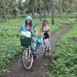 вот такие велосипеды выдают для передвижения по острову)