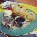Cream tea for two! WOW!!!