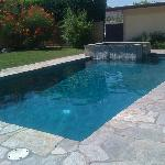 Pool at guest house