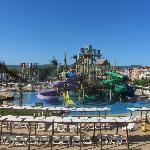 Childrens section aqua park