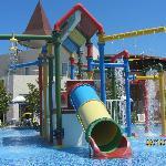 Aqua park toddler section