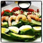 The best shrimp cobb salad