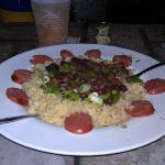 Red Beans, Rice and Andouille Sausage - YUM!