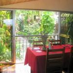 Belvedere dining area