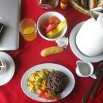 Belvedere breakfast