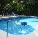 Belvedere pool area