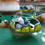For 2 y.o. - slow turtles :-)