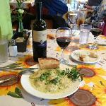 Mt. Hood Morel Ravioli with Tarragon Fresh Cream Sauce