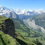 Stunning View from top of Maennlichen