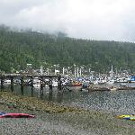 Deep Cove Beach and Launch Area