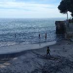 high tide at el palmar