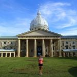The capitol building on Babeldaob Island, Palau