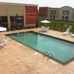 outdoor heated pool
