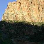 View of Watchman from our campsite