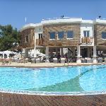 piscine et bar de jour