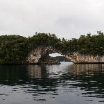 The arch, Rock Islands - Palau