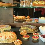 afternoon cakes buffet