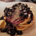 Pancake with Blue berries