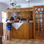 aan de keuken