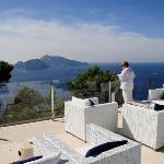 Relais Blu terrace, it's better than you think