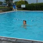 Nice size pool - clean and good temperature