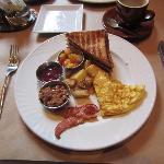 unappealing  breakfast