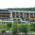 Hotel from Lake Titisee