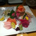 100 SGD Sashimi, but very fresh