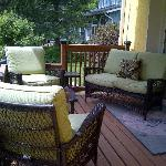 Guests Private Deck