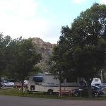 Scenic Rocky Butte Background
