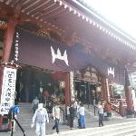 The temple in asakusa
