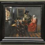 Vermeer - Herr und Dame beim Wein, um 1658 - 60