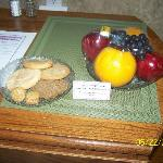 complamentary trays