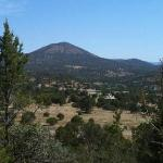 View from one of the trails above the lodge.