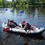 Enjoying An Inflatable Kayak!