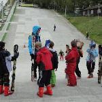 John Nike skiing , Brachnell