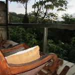 Cabina #1 porch