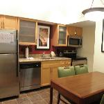 Kitchen/dining area in top floor 2-bedroom accommodation