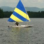 Sailing--view from beach