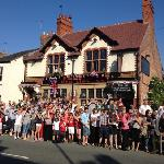 Just a normal afternoon at the Red Lion!!!