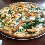 Pizza gluten free deliciosa!