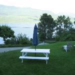 Kootenay Lake view from room