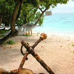 Shipwreck Hut at the Aro'a Beachside Inn